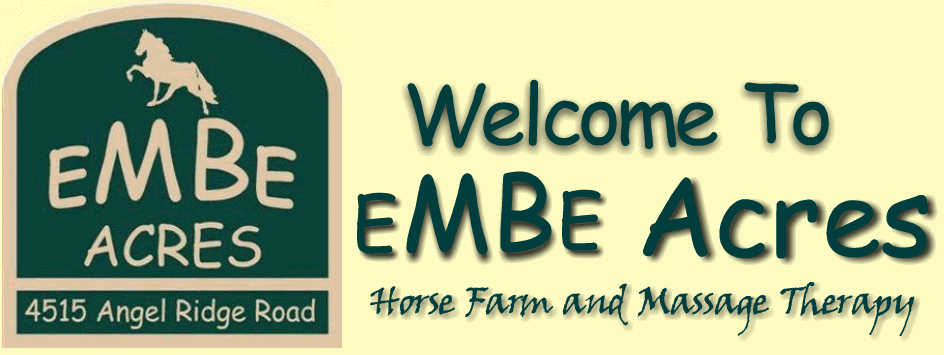 EMBE ACRES HORSE FARM AND HUMAN MASSAGE THERAPY